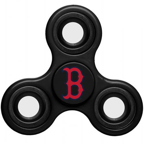 MLB Boston Red Sox 3 Way Fidget Spinner C48 - Black