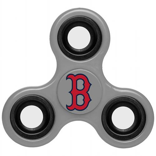 MLB Boston Red Sox 3 Way Fidget Spinner G48 - Gray