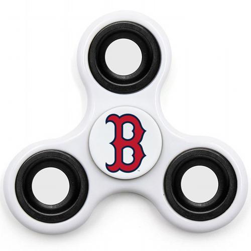 MLB Boston Red Sox 3 Way Fidget Spinner I48 - White