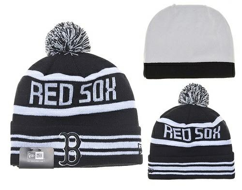 MLB Boston Red Sox Stitched Knit Beanies Hats 017