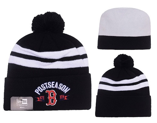 MLB Boston Red Sox Stitched Knit Beanies Hats 020