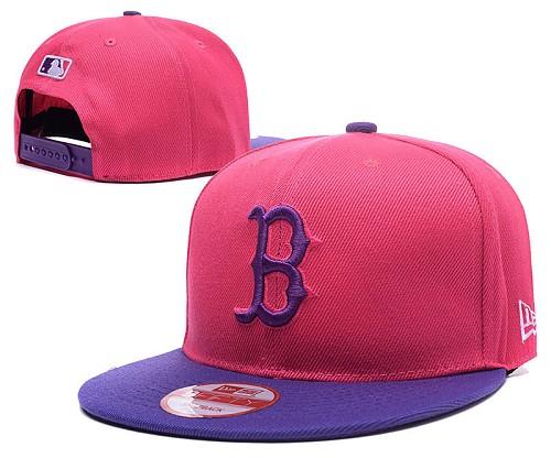 MLB Boston Red Sox Stitched Snapback Hats 001