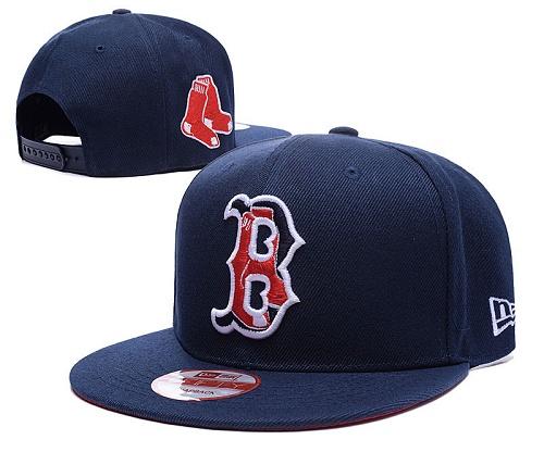 MLB Boston Red Sox Stitched Snapback Hats 002