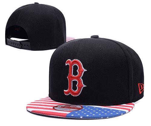 MLB Boston Red Sox Stitched Snapback Hats 005