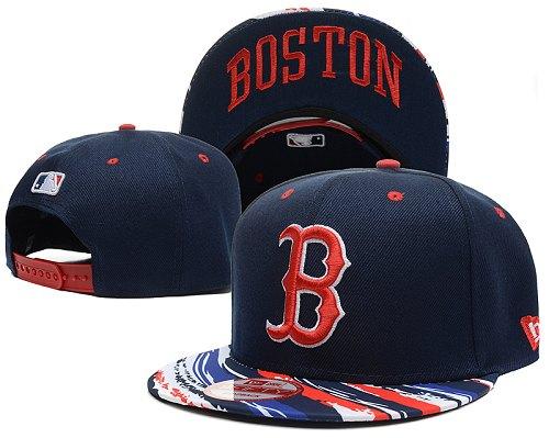 MLB Boston Red Sox Stitched Snapback Hats 006