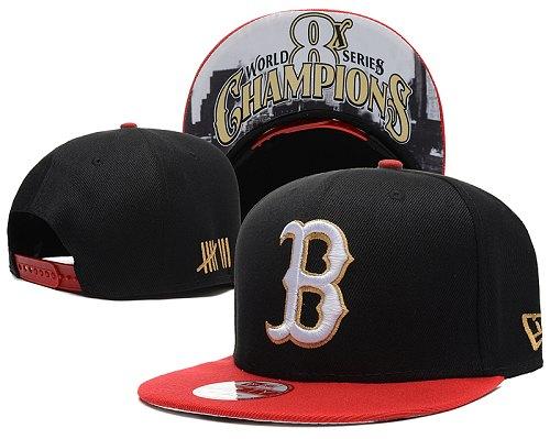 MLB Boston Red Sox Stitched Snapback Hats 007