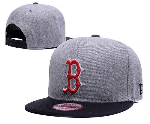 MLB Boston Red Sox Stitched Snapback Hats 011