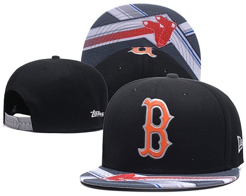 MLB Boston Red Sox Stitched Snapback Hats 021