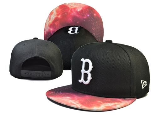 MLB Boston Red Sox Stitched Snapback Hats 022
