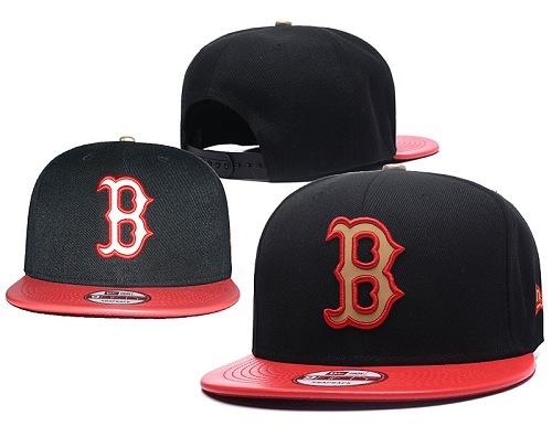 MLB Boston Red Sox Stitched Snapback Hats 025