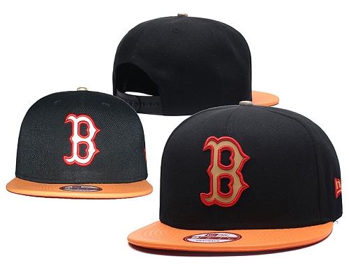 MLB Boston Red Sox Stitched Snapback Hats 026