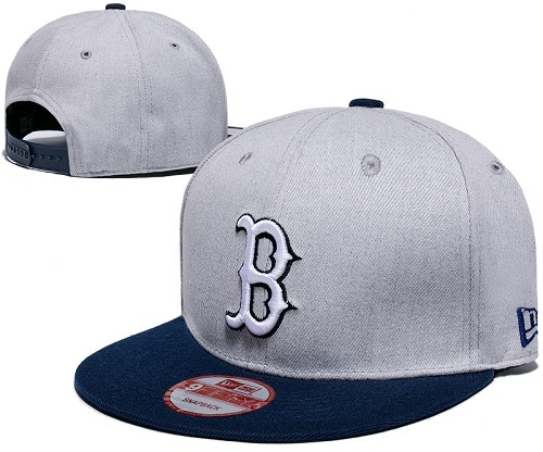 MLB Boston Red Sox Stitched Snapback Hats 028