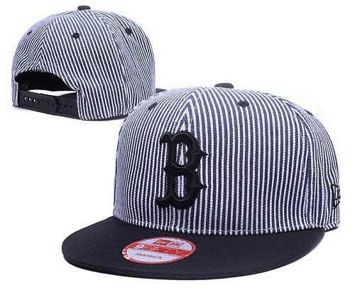 MLB Boston Red Sox Stitched Snapback Hats 029