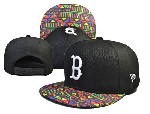 MLB Boston Red Sox Stitched Snapback Hats 030