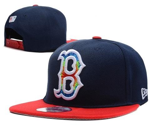 MLB Boston Red Sox Stitched Snapback Hats 031