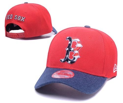 MLB Boston Red Sox Stitched Snapback Hats 032