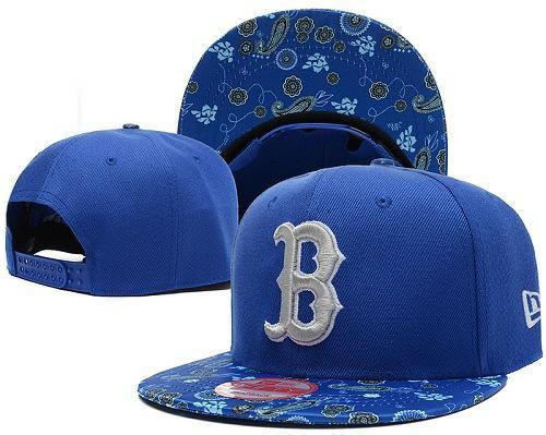 MLB Boston Red Sox Stitched Snapback Hats 035