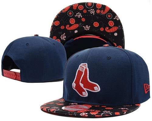 MLB Boston Red Sox Stitched Snapback Hats 036