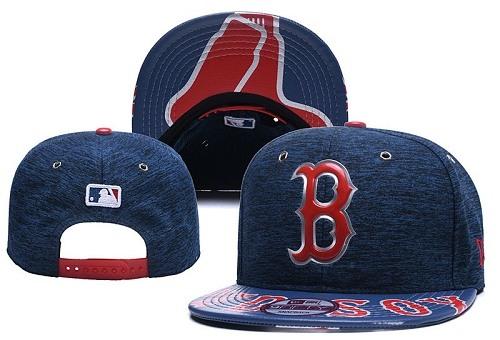 MLB Boston Red Sox Stitched Snapback Hats 039