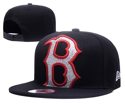 MLB Boston Red Sox Stitched Snapback Hats 041