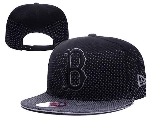 MLB Boston Red Sox Stitched Snapback Hats 042