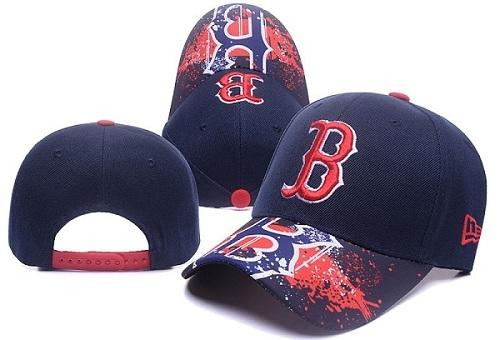 MLB Boston Red Sox Stitched Snapback Hats 043