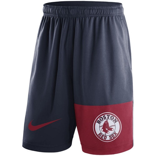 MLB Men's Boston Red Sox Nike Navy Cooperstown Collection Dry Fly Shorts
