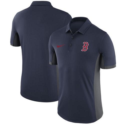 MLB Men's Boston Red Sox Nike Navy Franchise Polo T-Shirt