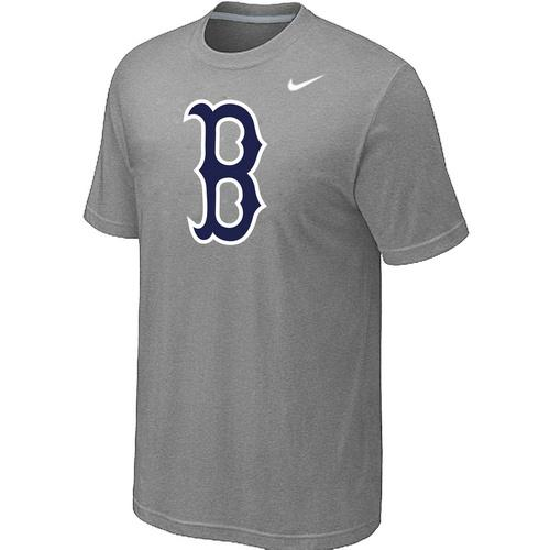 MLB Men's Boston Red Sox Nike Practice T-Shirt - Grey