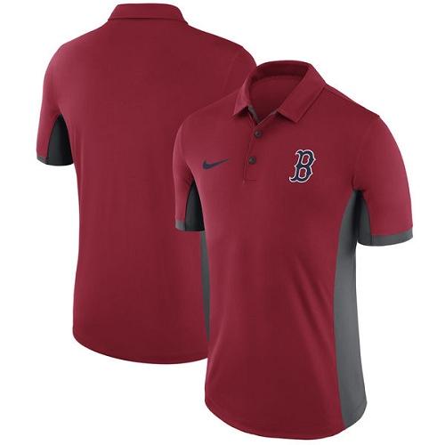 MLB Men's Boston Red Sox Nike Red Franchise Polo T-Shirt